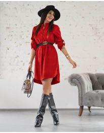 Φόρεμα - κώδ. 9601 - κόκκινο
