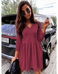 Φόρεμα - κώδ. 0060 - μπορντό
