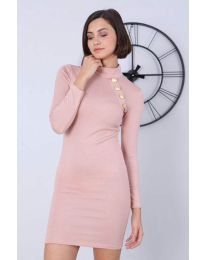 Φόρεμα - κώδ. 7099 - 3 - πούδρα