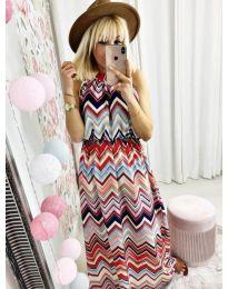Φόρεμα - κώδ. 9857 - πολύχρωμο