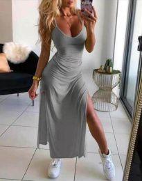 Φόρεμα - κώδ. 4754 - 2 - γκρι