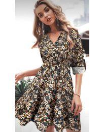 Φόρεμα - κώδ. 979 - 1 - πολύχρωμο