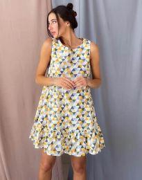 Φόρεμα - κώδ. 6468 - πολύχρωμο