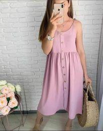 Φόρεμα - κώδ. 1472 - 2 - πούδρα