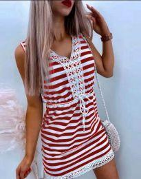 Φόρεμα - κώδ. 20100 - κόκκινο