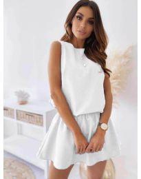 Φόρεμα - κώδ. 477 - λευκό