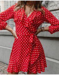 Φόρεμα - κώδ. 0438 - κόκκινο