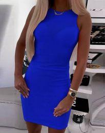 Φόρεμα - κώδ. 9560 - μπλε
