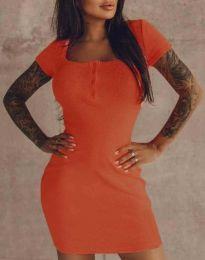 Φόρεμα - κώδ. 1842 - πορτοκαλί