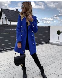 Παλτό - κώδ. 189 - μπλε