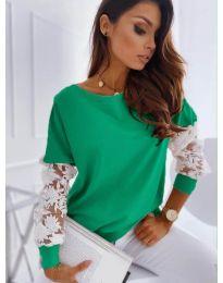 Μπλούζα - κώδ. 4426 - πράσινο