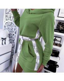 Φόρεμα - κώδ. 4483 - πράσινο