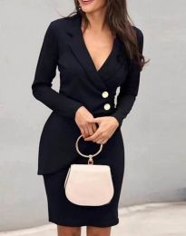 Φόρεμα - κώδ. 2431 - μαύρο