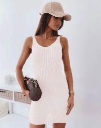 Φόρεμα - κώδ. 10088 - λευκό