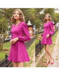 Φόρεμα - κώδ. 1478 - 2 - μωβ