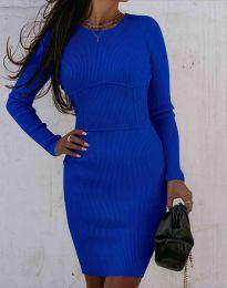 Φόρεμα - κώδ. 0891 - σκούρο μπλε