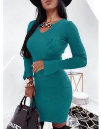 Φόρεμα - κώδ. 5666 - τυρκουάζ