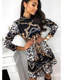 Φόρεμα - κώδ. 7272 - 2 - πολύχρωμο
