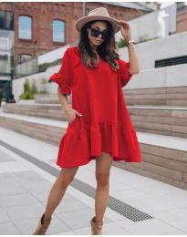 Φόρεμα - κώδ. 748 - κόκκινο