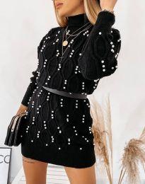 Φόρεμα - κώδ. 3904 - μαύρο
