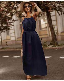 Φόρεμα - κώδ. 3323 - σκούρο μπλε