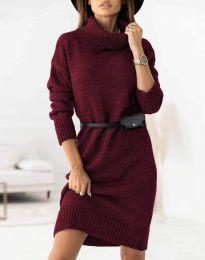 Φόρεμα - κώδ. 0393 - μπορντό