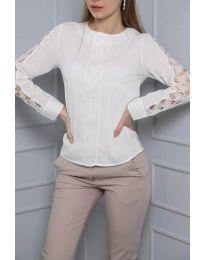 Μπλούζα - κώδ. 0639 - 2 - λευκό