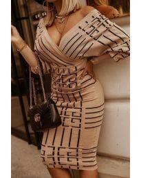 Φόρεμα - κώδ. 4441 -3 - πολύχρωμο