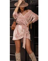 Φόρεμα - κώδ. 238 - πούδρα