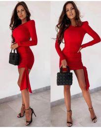 Φόρεμα - κώδ. 6515 - κόκκινο