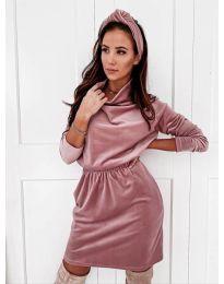 Φόρεμα - κώδ. 1714 - ροζ
