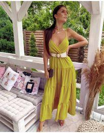 Φόρεμα - κώδ. 719 - Μουσταρδί