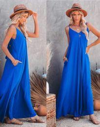 Φόρεμα - κώδ. 4673 - μπλε
