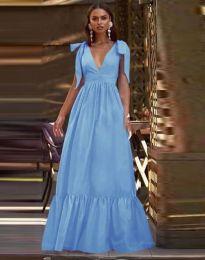 Φόρεμα - κώδ. 2743 - γαλάζιο