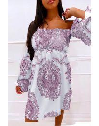 Φόρεμα - κώδ. 757 - μωβ