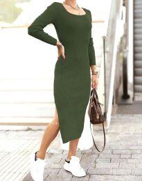 Φόρεμα - κώδ. 2326 - λαδί