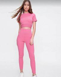 Αθλητικό σετ - κώδ. 2507 - ροζ