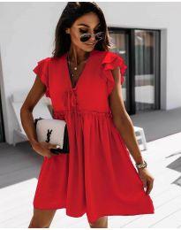 Φόρεμα - κώδ. 2093 - κόκκινο