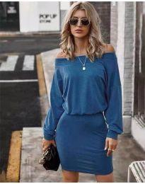 Φόρεμα - κώδ. 4447 - μπλε