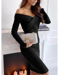 Φόρεμα - κώδ. 6130 - 1 - μαύρο