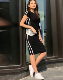 Φόρεμα - κώδ. 2476 - 1 - μαύρο