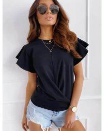 Κοντομάνικο μπλουζάκι - κώδ. 515 - μαύρο