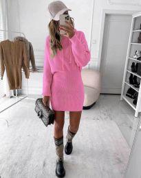Φόρεμα - κώδ. 0235 - ροζ