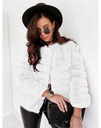 Παλτό - κώδ. 7676 - λευκό