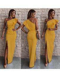 Φόρεμα - κώδ. 745 - μουσταρδί
