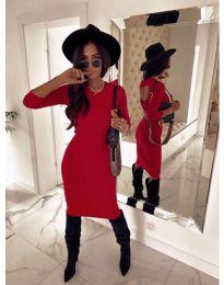 Φόρεμα - κώδ. 5169 - 1 - κόκκινο