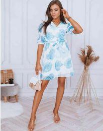 Φόρεμα - κώδ. 4082 - 1 - πολύχρωμο