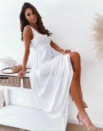 Φόρεμα - κώδ. 4807 - λευκό