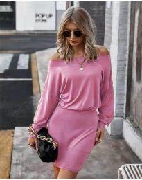Φόρεμα - κώδ. 4447 - ροζ