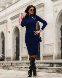 Φόρεμα - κώδ. 9768 - 2 - σκούρο μπλε